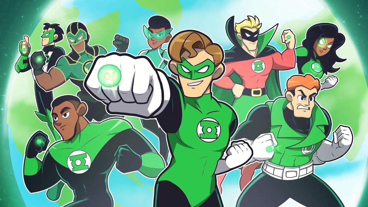 The Animated History of Every Green Lantern [DC Comics]