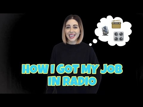 How I Got My First Job In Radio