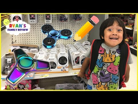 Thumbnail: Back to School Shopping and Fidget Spinner Toy Hunt with Ryan's Family Review