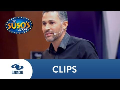 Mario Yepes aceptó el reto de Suso y terminó abrazando a una fan | The Suso's Show