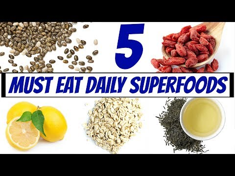 5 Superfoods To Eat Daily | Joanna Soh