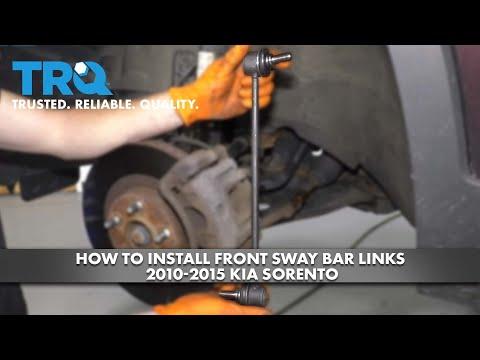 How to Install Front Sway Bar Links 2010-15 Kia Sorento