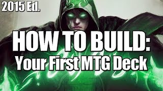 Mtg- Deck Builder's Toolkit 2015: How To Build Your First Mtg Deck