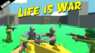 Ravenfield Meets Counter Strike and COD Zombies - Life is War