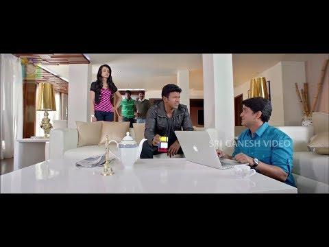 Puneeth Rajkumar Funny Talking On His Lover | Puneeth Rajkumar | Trisha | Kannada Comedy Scenes