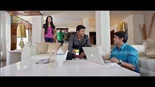 Puneeth Rajkumar Funny Talking on His Lover   Puneeth Rajkumar   Trisha   Kannada Comedy Scenes
