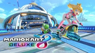 Mario Kart 8 Deluxe Online Play with viewers