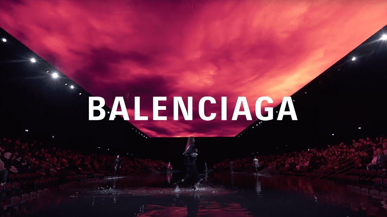 Balenciaga Winter 20 Show Youtube
