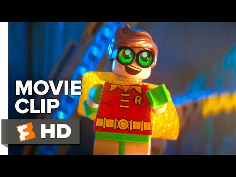 The LEGO Batman Movie CLIP - Robin (2017) - Michael Cera Movie