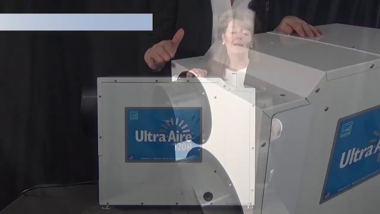 Ultra Aire 120h Whole House Ventilating Dehumidifier Youtube