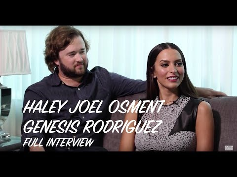 Haley Joel Osment & Genesis Rodriguez Interview