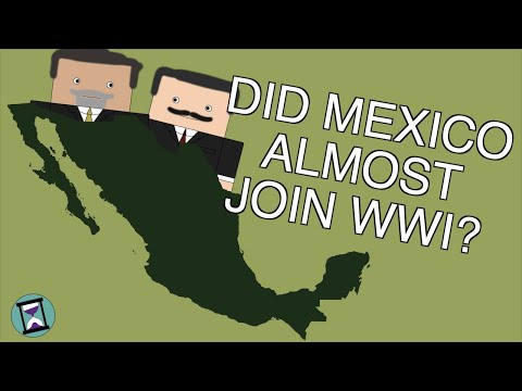 How did Mexico React to the Zimmerman Telegram? (Short Animated Documentary)