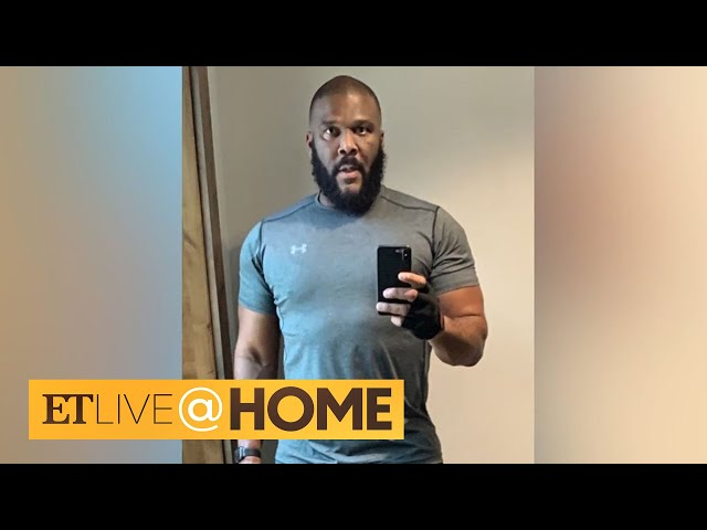 Tyler Perry Announces He's Newly Single With Sexy Snap | ET Live @ Home