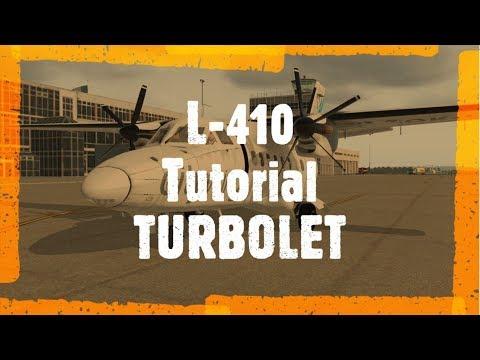 LET L-410 Turbolet | Tutorial And Demo Flight X Plane