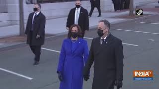 Watch: VP Kamala Harris enters Eisenhower Executive Office Building