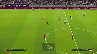 Pes20 Efootball euro2020 Portugal vs Germany