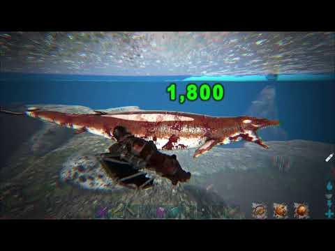 ARK:Survival Evolved.Savages PvE x3.Охота на мегалодонов и базилозавров