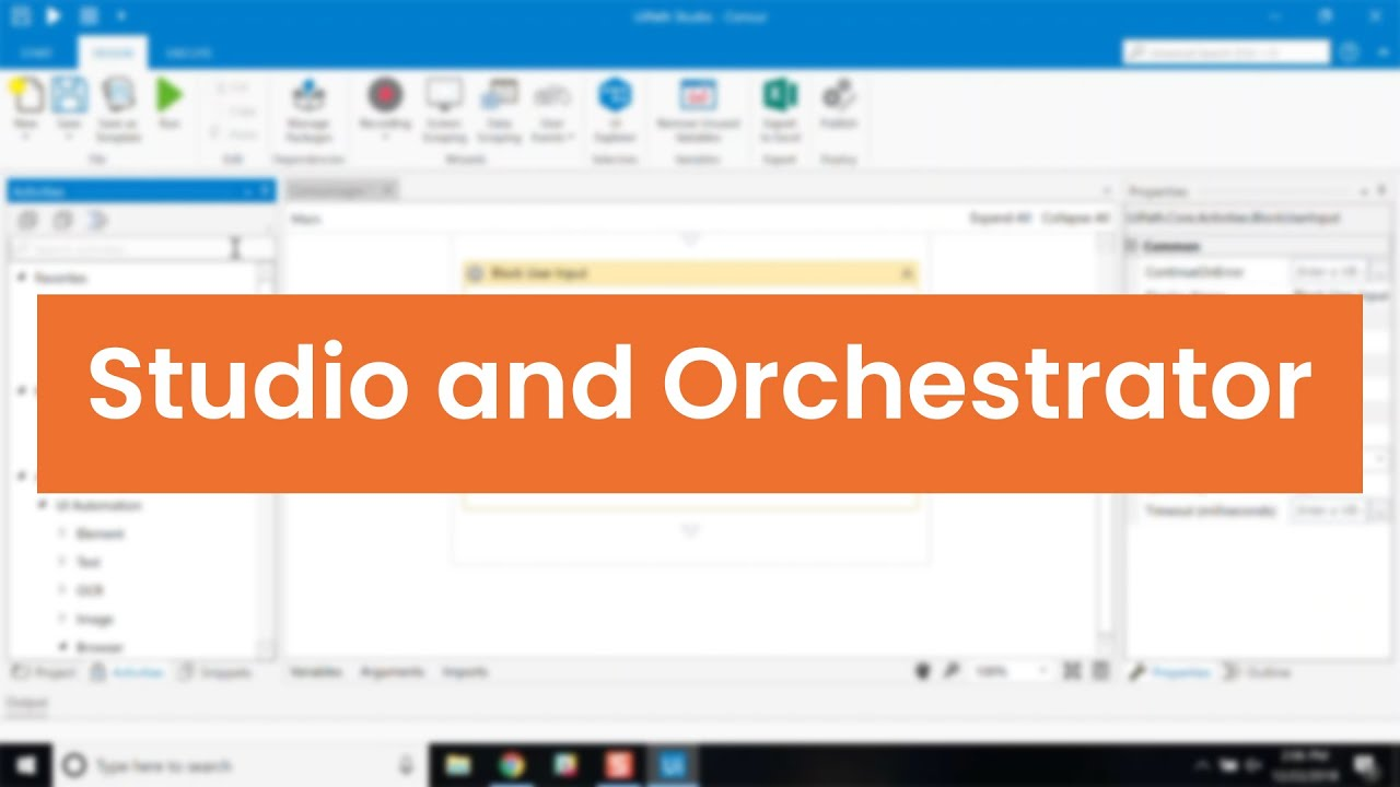 UiPath Product Demo: Overview of Studio and Orchestrator