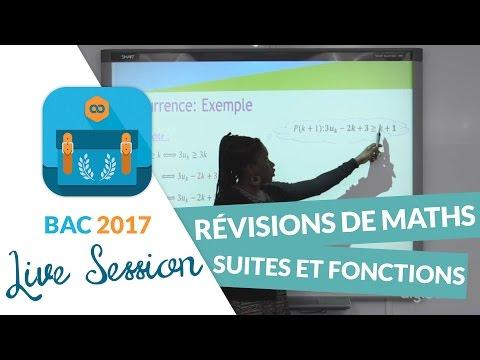 Bac 2017 : Révisions de Maths : Suites et fonctions - En live avec digiSchool
