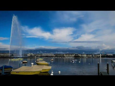 Road to Geneve - lake parade
