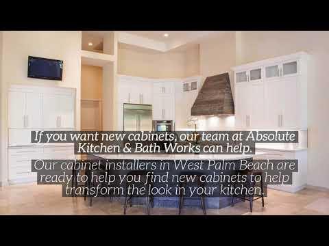 Best Cabinet Installer in West Palm Beach | Absolute Kitchen & Bath Works