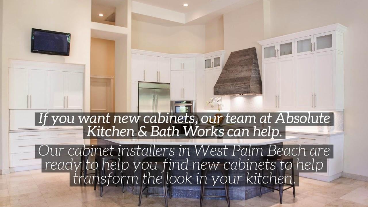 Best Cabinet Installer In West Palm Beach Absolute Kitchen Bath Works