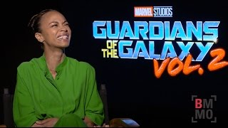 Zoe Saldana Interview - Guardians of the Galaxy: Vol. 2