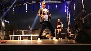 Marcin Nowak, Tarzan Boy na scenie koncertowej w Bełchatowie, 25.08.2018