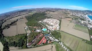 Riviera del Conero dal Drone... (Sirolo, Numana, Fiume Musone )