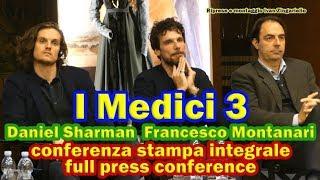 I Medici 3, conferenza integrale con Daniel Sharman (full press conference)