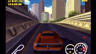 PSM2 Demo Disc 11 - Supercar Street Challenge Trailer