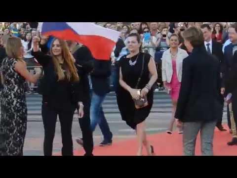 RED CARPET Eurovision 2015║Marta Jandová & Václav Bárta (CZECH REPUBLIC)