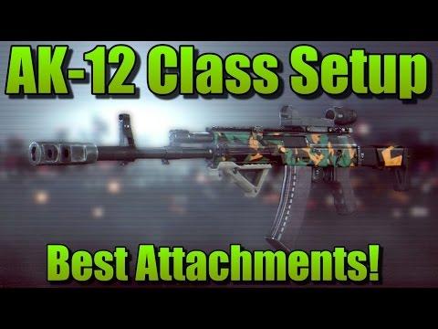 Battlefield 4 AK-12 Best Attachments + AK-12 Best Class Setup