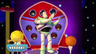Toy Story Mania! Xbox360 Space Fontier Level Kinect Play