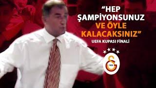 UEFA Kupası | 17 Mayıs 2000 UEFA Kupası Fatih Terim Soyunma Odası Konuşması