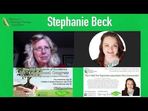 Stephanie Beck & Ruth Werner | 2017 Educational Congress Interviews