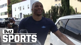 RUSSELL WESTBROOK Reaches Fashion Limit NO ON MALE ROMPERS! | TMZ Sports