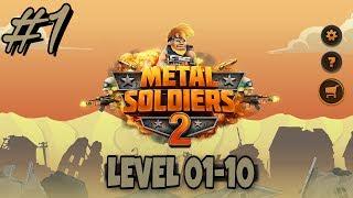 Video metal soldiers 2 Level 01-10 | GAMEPLAY download MP3, 3GP, MP4, WEBM, AVI, FLV Desember 2017