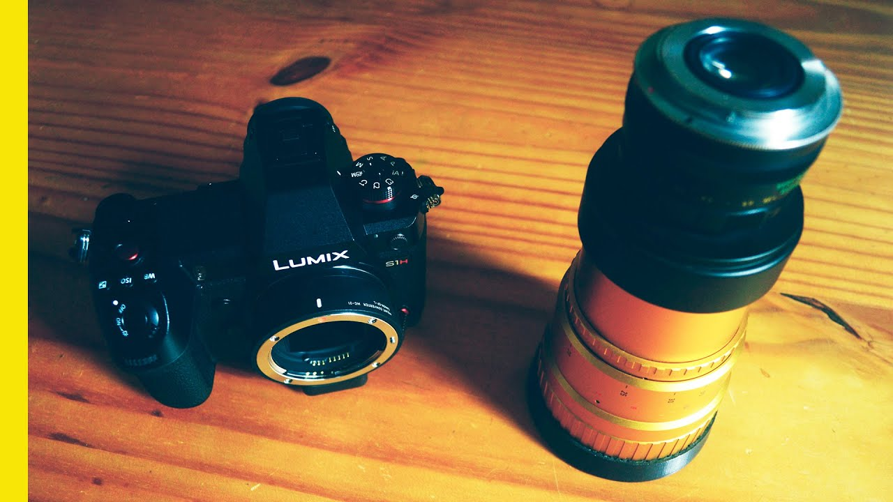 This LENS IS A BEAST | Panasonic S1H | Cinematic 4k Anamorphic Mode