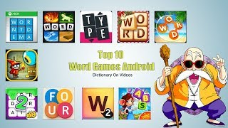 Word Games Android - Word Games In English
