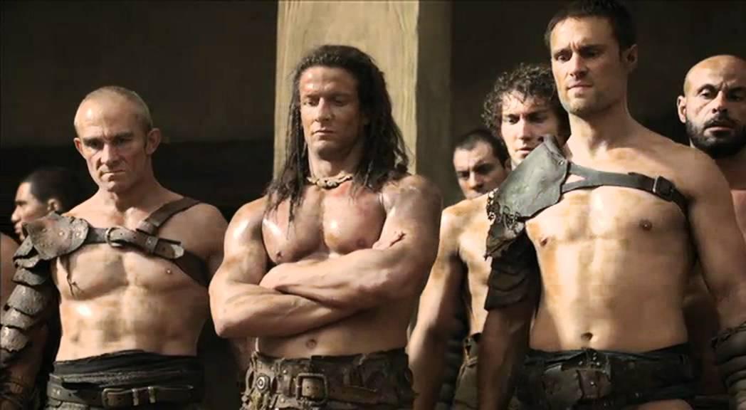 Download Spartacus Ep8 #4 - Lotta Spartacus/crisso