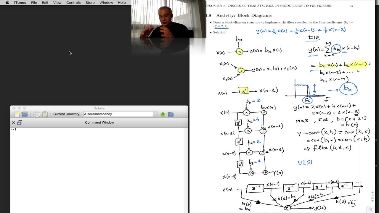 dsp topic 4 block diagrams of fir filters v9  [ 1280 x 720 Pixel ]