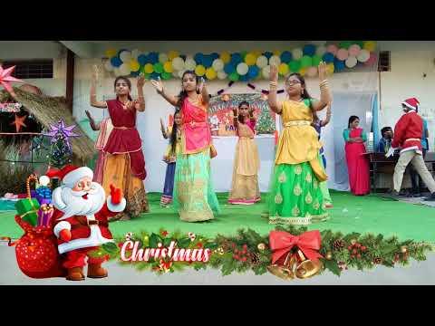 Bethlahemulo Sandadi Song Dance  Christmas Songs For Kids With Dance  Jesus Songs Telugu