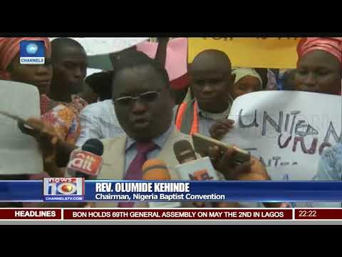Christian Association Of Nigeria Protest In Several States
