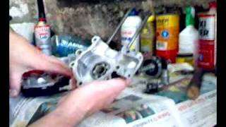Tonella - montagem do motor mobilete 1/3