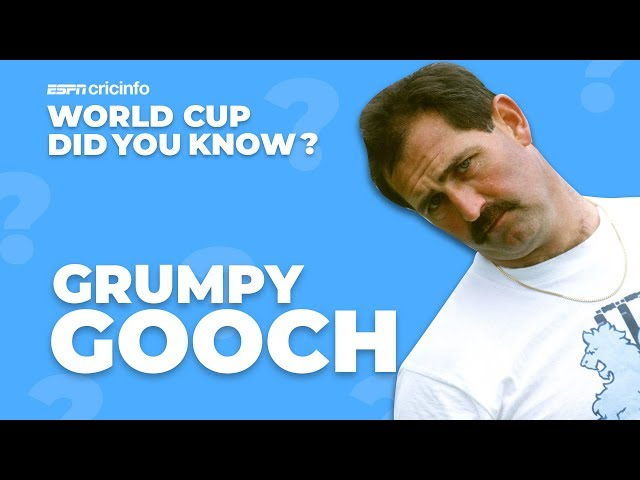 Gooch's unwanted record | Did You Know