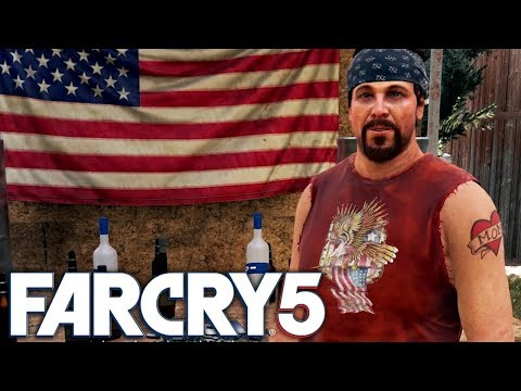 Far Cry 5 Exclusive Gameplay: Meeting Hurk & His Father