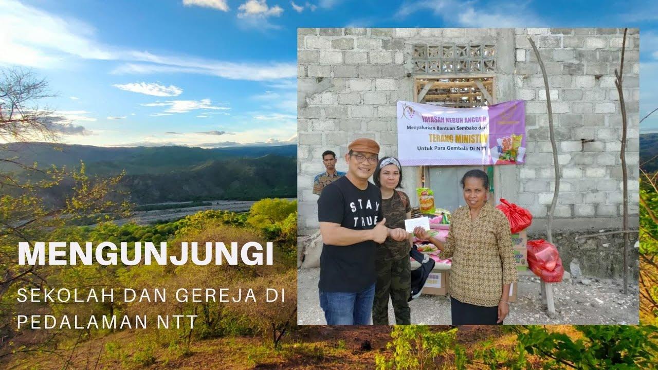 Melihat Salah Satu PAUD Yayasan Kebun Anggur Di NTT