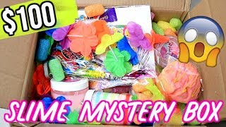 I Spent $100+ on a SLIME Mystery Box! Is It Worth It?