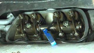 réglage des culbuteurs sur moteur vw